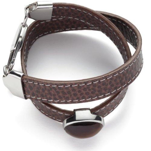 Leonardo Jewels Damenarmband Solace Leder braun 38cm 011990 -