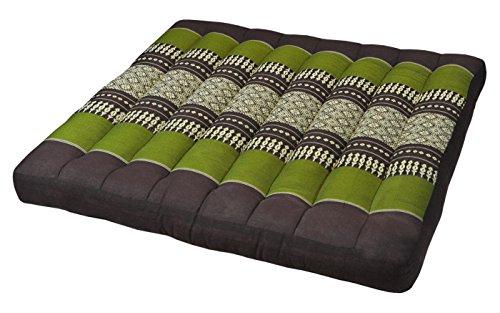 Cuscino piatto (50x50x7), sede per sedia poltrona canapè meditazione, fabbricato