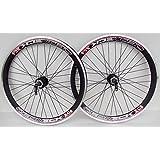 """BOMBPROOF Redneck 26"""" Wheel Mountain Bike Disc & vbrake Brake Wheels, 8,9,10 Speed cassette type, Ultra Deep 42mm v section rims"""