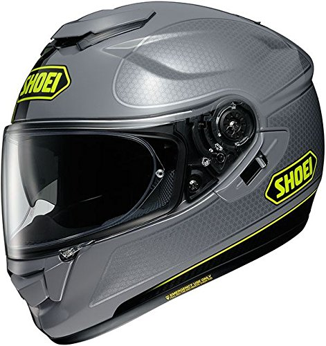 Casco integral Shoei GT Air Wanderer gris amarillo fluo 2 TC-10 Tall