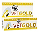 VetGold For Animals, naturally promotes the healing of dry, damaged, irritated and itchy skin 30ml
