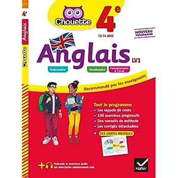 Anglais 4e - LV1 (A2, A2+): cahier d'entraînement et de révision