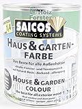 SAICOS Haus und Garten-Farbe 2112 Zitronengelb deckend, 0,75 Liter