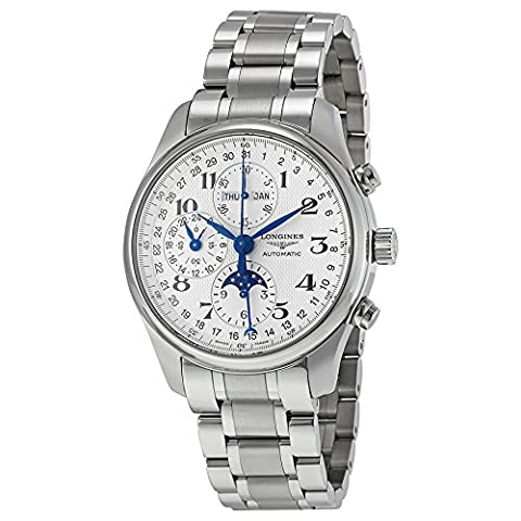 Master Collection Silver Chronograph Dial Stainless Steel Men's Watch