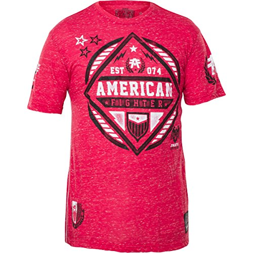 American Fighter by Affliction T-Shirt Fort Valley Rot, XL (American Rot Fighter T-shirt)