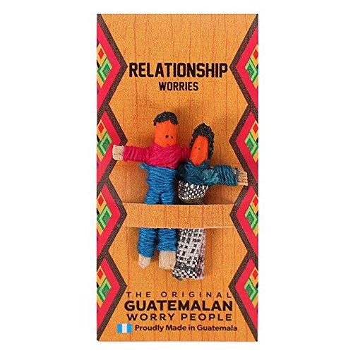 The Original Guatemalan Worry People Muñeca quitapenas (Talla Única/Relationship)