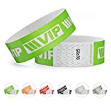 linie zwo®, 100er Pack Securebänder Tyvek® 19 mm - VIP New Design, Neongrün