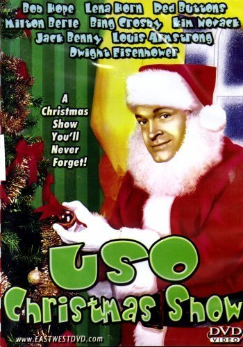 USO Christmas Show (Bob Hope, Lena Horne, Red Buttons, Milton Berle, Bing Crosby, Kim Novak, Jack Benny, Louis Armstrong, Dwight D. Eisenhower, and more!) (Eisenhower Dwight Dvd D)