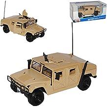 Hummer HuMVee H1 Militär USA Armee SUV Beige 1992-2006 1/27 1/24 Maisto Modell Auto mit oder ohne individiuellem Wunschkennzeichen