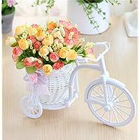 QIAOHUAJIA Soporte/estantes Decorativos de la Flor de la simulación Creativa de la Flor para