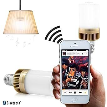Twitfish® - Lampadina con altoparlante Bluetooth - Accendi la luce e ascolta la tua musica