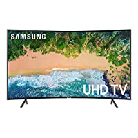 Samsung 65 Inch UHD Curved Smart TV - UA65NU7300KXZN - Series 7 - Black