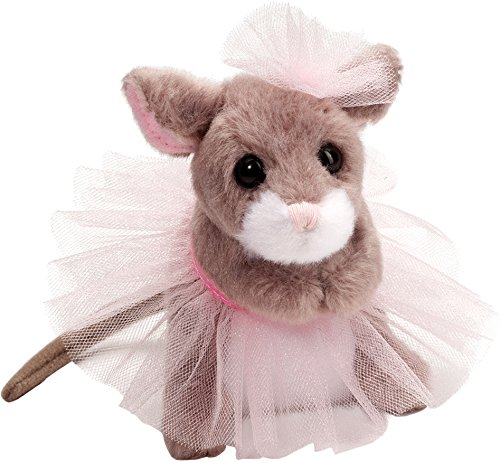 Cuddle Toys 647Tippy Toe BALLERINA MOUSE Maus mit Ballet Tutu Kuscheltier Plüschtier Stofftier Plüsch Spielzeug