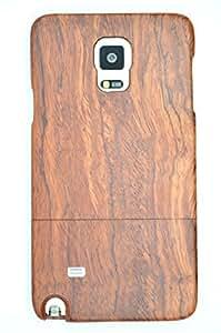 Samsung Galaxy Note 4 N9100 Téléphone Cas Coque En Bois - Bois de Rose 5,7'' - Collecte de Bois (TM) Wooden Case de protection et de couverture de téléphone de votre smartphone et tablette