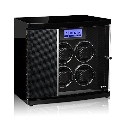 Modalo Timeless MV3 Uhrenbeweger für 4 Automatikuhren + 2 Ablagen in carbon 3004883 - 2