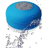 VOLTAC Water Proof Bluetooth Shower Speaker With Mic Wireless Stereo Shower Speakers Portable Waterproof Bluetooth Wireless Stereo Shower Speakers, - Best For Bath, Pool, Car, Beach, Indoor/Outdoor Use Model 410029