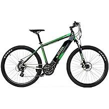 BIWBIK Bicicleta ELECTRICA Modelo KUBOR BATERIA Ion Litio 36V11.6AH (Gris, 19)