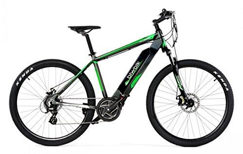 Bicicletta elettrica biwbik modello Kubor batteria agli ioni litio 36V11.6ah, grigio, 16,5