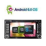 17,8cm Android 6.0Octa Core 2GB RAM 32GB ROM 2DIN AUTORADIO Stereo mit GPS Navigation für Subaru Forester 2008–2012Unterstützung Radio RDS am/fm, 3G/WIFI, bluetooth 4.0, AV-Ausgang, Kamera
