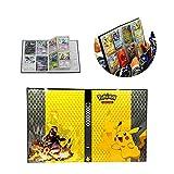 ESOOR Pokémon Karte Halter Sammlung Handbuch Handel Karte Album Hält bis zu 160 Pokemon Sammelkarten