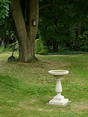 Buckingham Birdbath Cast Stone Frost Proof Hand Made Free Delivery UK Mainland (SALE PRICE) TEL- 07446195317 by UK Sculptures