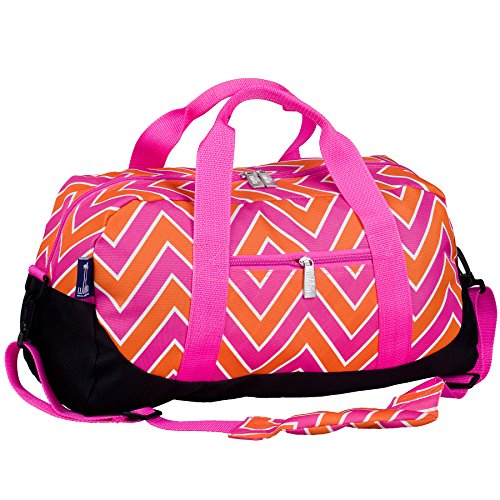 wildkin-big-dots-aqua-overnighter-duffel-bag-pink-taglia-unica
