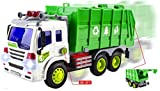 WolVol Friction Powered Camioncino Giocattolo con luci e Suoni per Bambini