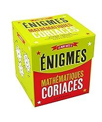 Mini boîte à énigmes spécial mathématiques coriaces