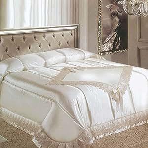 Trapunta renato balestra invernale matrimoniale due piazze noemi panna g231 casa e - Biancheria da letto amazon ...
