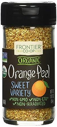Frontier Orange Organe Peel Granules, 2.1 Oz