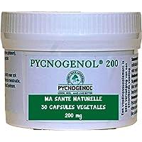 PYCNOGENOL® 200 mg (par capsule) 30 capsules végétales (dosage pour 1 à 2 mois) - Extrait d'écorce du pin maritime qui pousse sur les côtes sablonneuses au sud de Bordeaux - HALAL/KOSHER/VÉGÉTARIEN