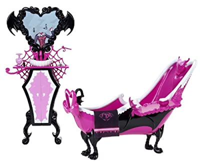 Monster High Y6274 - Accessorio Draculaura Powder Room por Mattel