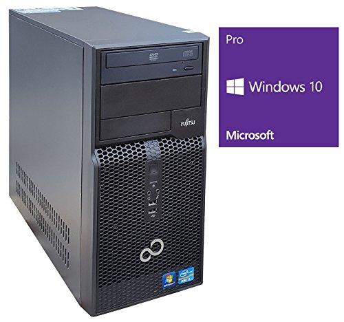 Fujitsu Esprimo P500 Office PC | Intel Core i3-2100 @ 3,1 GHz | 4GB DDR3 RAM | 500GB HDD | DVD-ROM | Windows 10 Pro vorinstalliert (Zertifiziert und Generalüberholt)