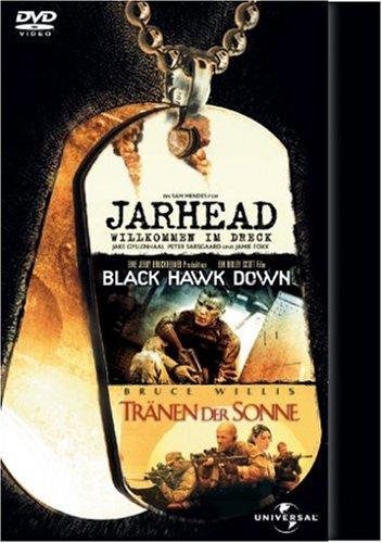 Jarhead / Black Hawk Down / Tränen der Sonne [3 DVDs]