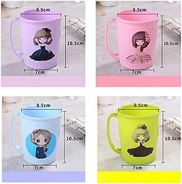 DDOQ Beste 1 Stück Kinder Kleines Mädchen Zahnputzbecher Mundwasser Tasse  Wasser Tasse Becher