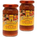 Conimex Sambal Oelek, Hot Chilli Paste, 200g, Pack of 2