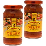 Conimex Oelek Sambal, nexos Trading gaseosas dietéticas de molido picantes, 2 x 200 G