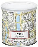 CITY PUZZLE LYON 100 pièces magnétiques (23x33cm)