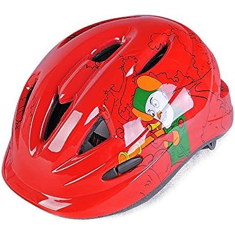 TKWMDZH® Un bambino di equitazione casco protettivo di pattinaggio in linea , red