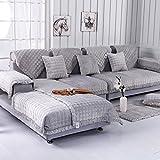 SSDLRSF FleeceSofa BezugSoftSlip resistent Sofa Schonbezug Sitz Couch Cover für Wohnzimmer Home Decor, Farbe 2,70 x 90 cm