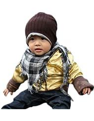 Baby Kinder Kleinkind Beanie Hat Hut Warmer Winter Jungen Mädchen Kinder Strickmütze