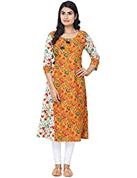 Stylish Cotton Printed With Tussles Kurti For Girls By Ketsaal Retails