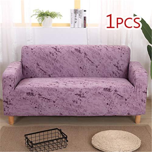 SHFOLSFH Inkjet-Muster elastische Stretch Universal Sofa Abdeckungen Schnitt Werfen Couch Ecke Cover Cases für Möbel Sessel Home Decor 3 Single seat Sofa -