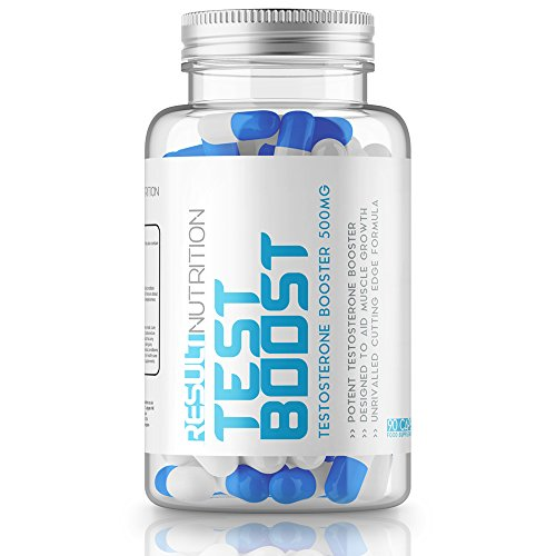Testosterone Booster-Test Boost-Result Nutrition-A Combination Of The Strongest Proven Ingredients On The Market Today -90 Capsules –Libido Increase-Used To Increase Muscle Mass, Strength And Recovery Time-Male Enhancement Pills-Strongest Testosterone B