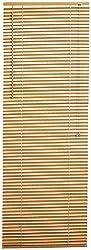 1-Inch Woodtone Mini Blind 36-Inch by 64-Inch