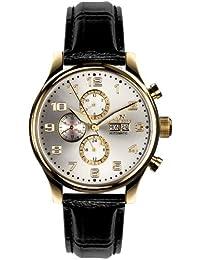 Hindenberg Reloj  negro / plata / dorado
