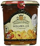 Confiture a l'Ancienne de Mirabelles Les Comtes de Provence 370 g - Lot de 3