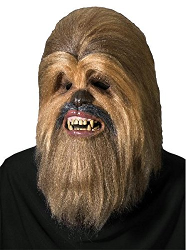 Chewbacca Maske Halloween Kostueme Maske Gesicht Maske Over-the-Head-Maske Kostuem Stuetze Scary Creepy Schreckliche Maske Latex Maske fuer Maskerade Make-up (Kostüm Chewbacca Halloween)