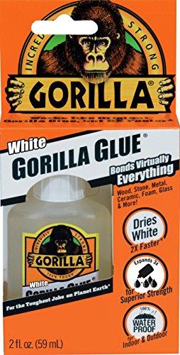GORILLA WHITE GORILLA GLUE  2 OZ   WHITE BY GORILLA