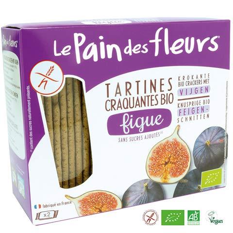 Tartines craquantes à la figue sans gluten bio